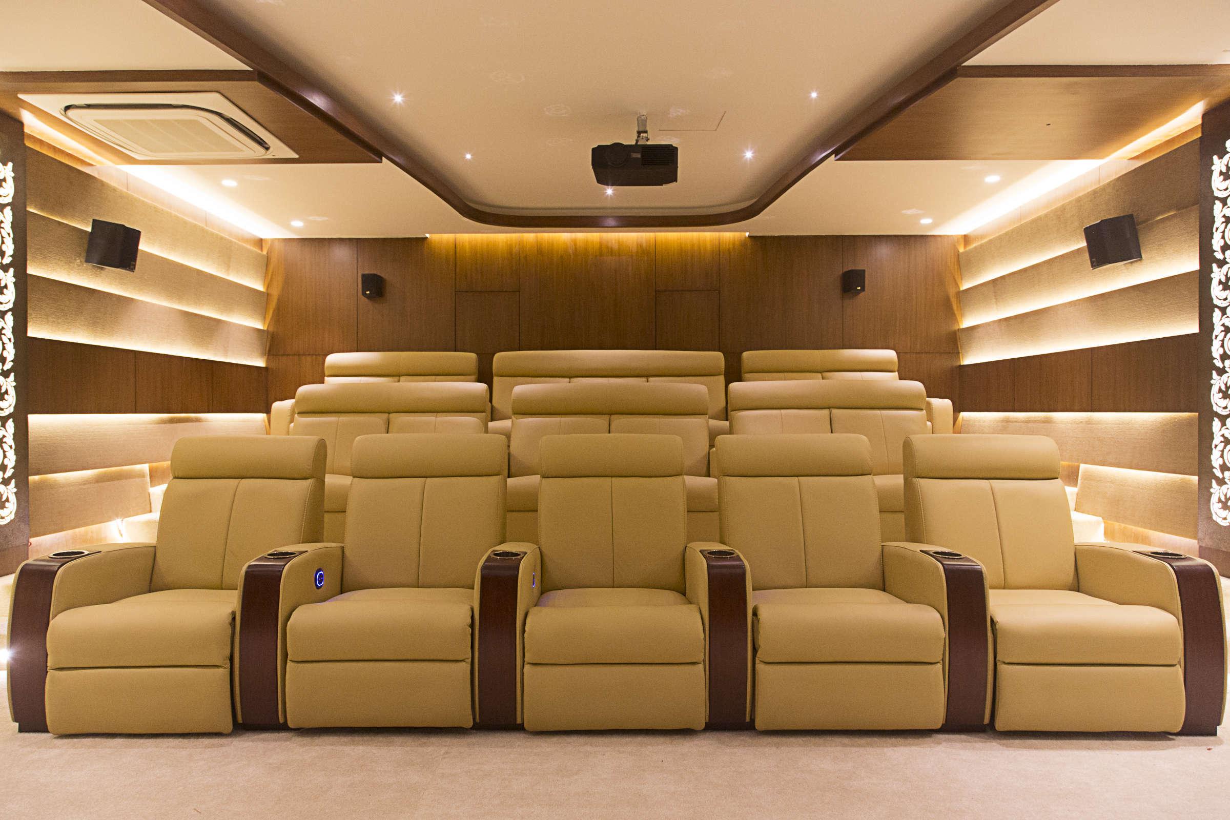 Interior designers in bangalore best interior designer carafina - Home theater interior design ...